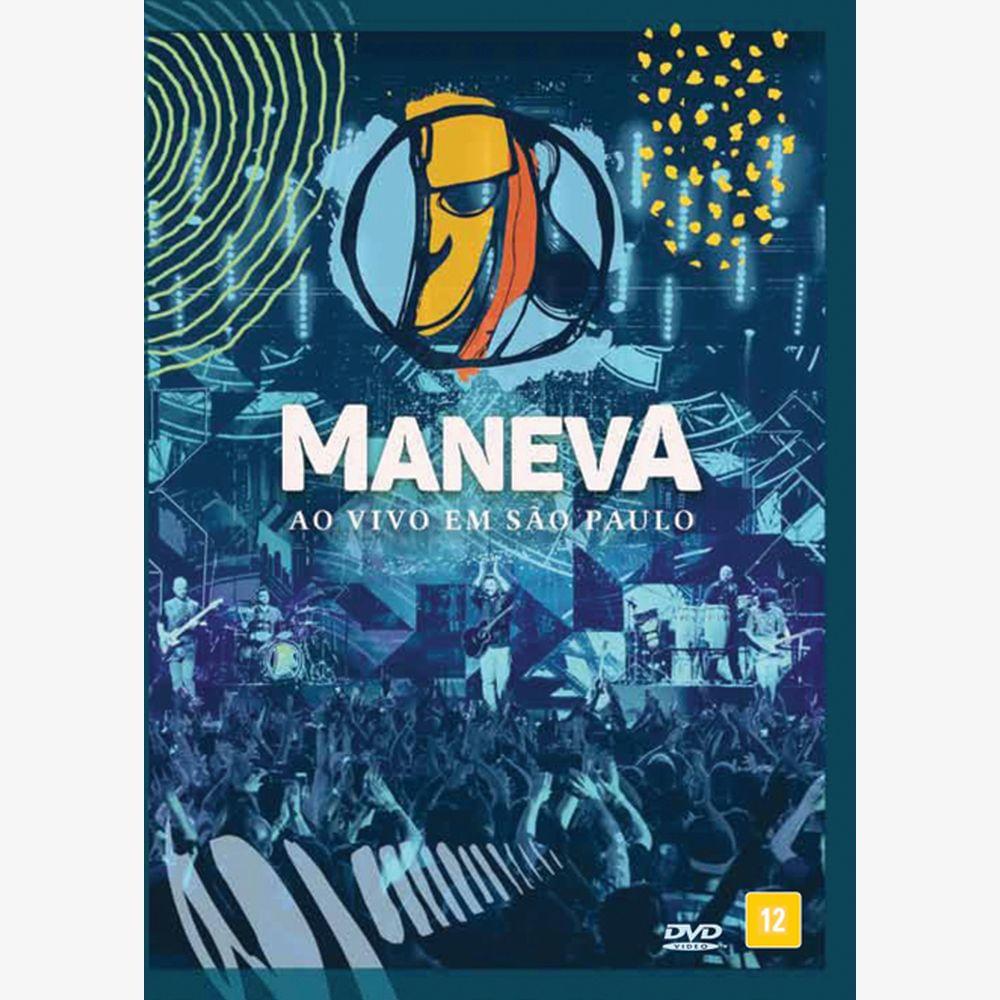 Dvd Maneva Ao Vivo Em Sao Paulo Universal Music Store Universal Music