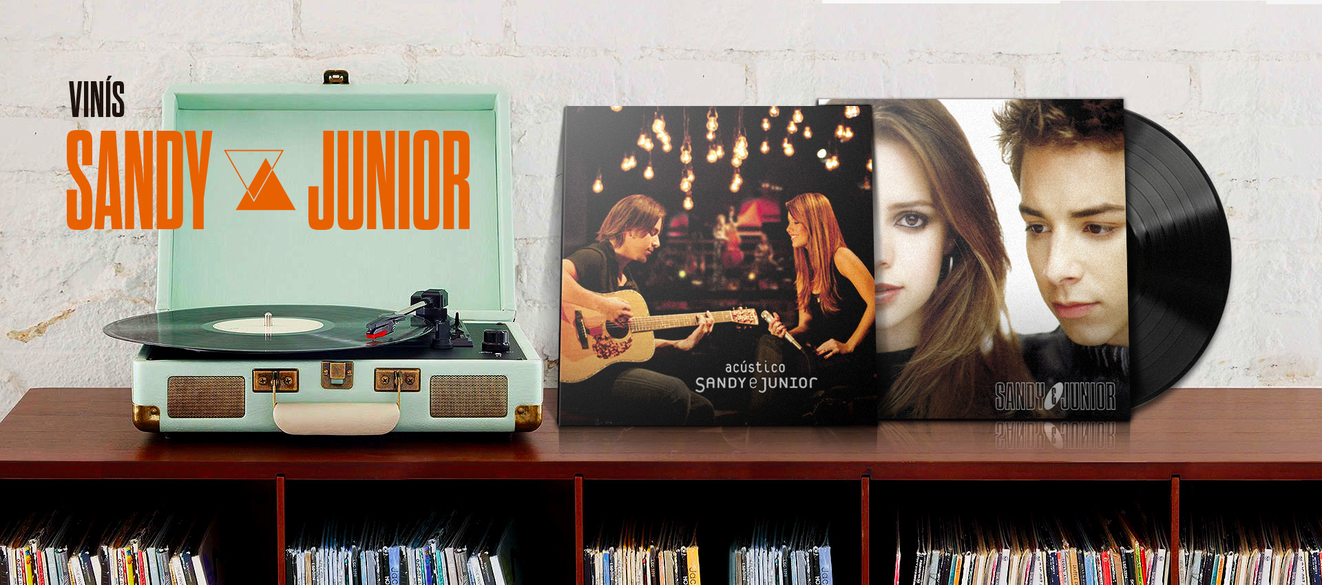 Sandy Junior Vinil