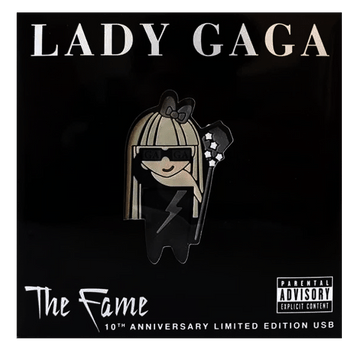 Pen-Drive-Lady-Gaga---The-Fame---10th-Anniversary-Limited-Edition---Importado