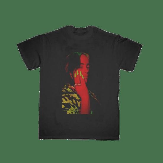 Billie-Eilish-Camiseta-Red-Photo
