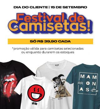 Festival de camisetas