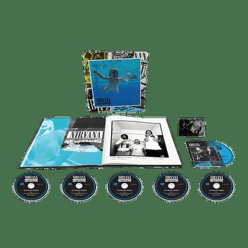 BOX-Nirvana---Nevermind-30th--5CDs-
