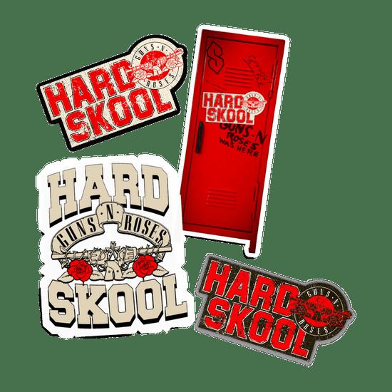 Guns-n-roses-Hard-Skool-Adesivos