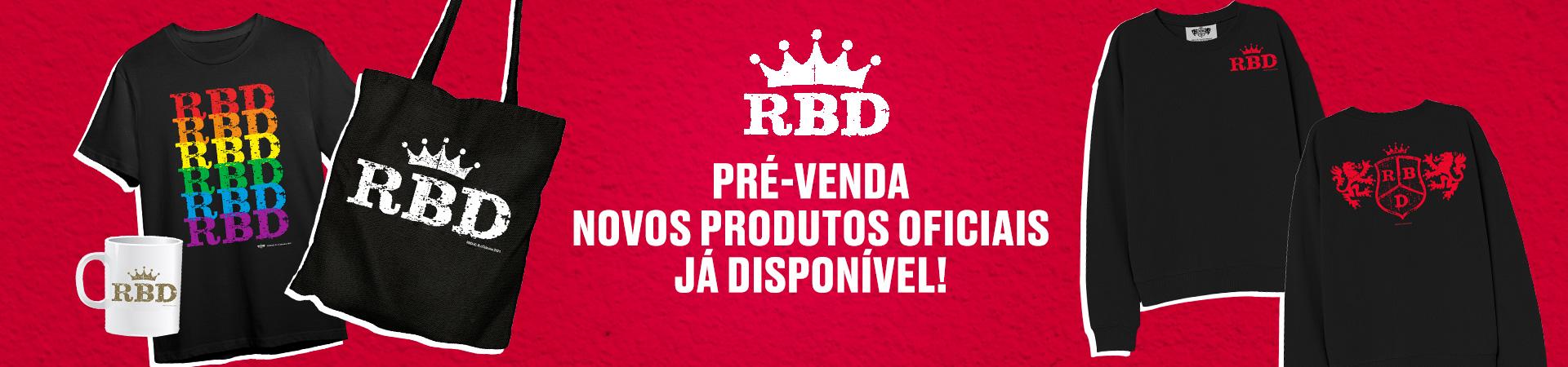 RBD mercha novo